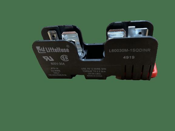 Zekeringhouder LF Series CLass cd 600v 30A side