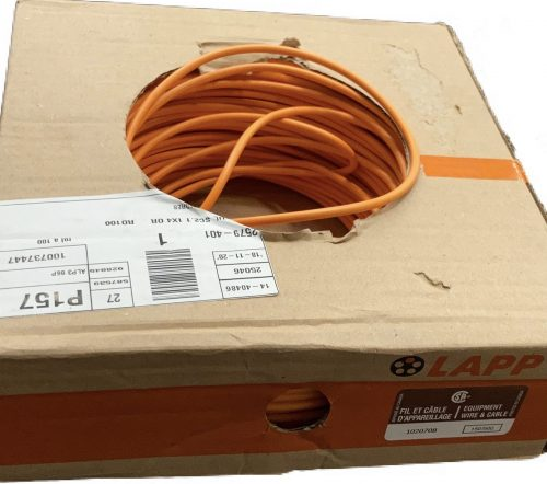 orange cable Lapp
