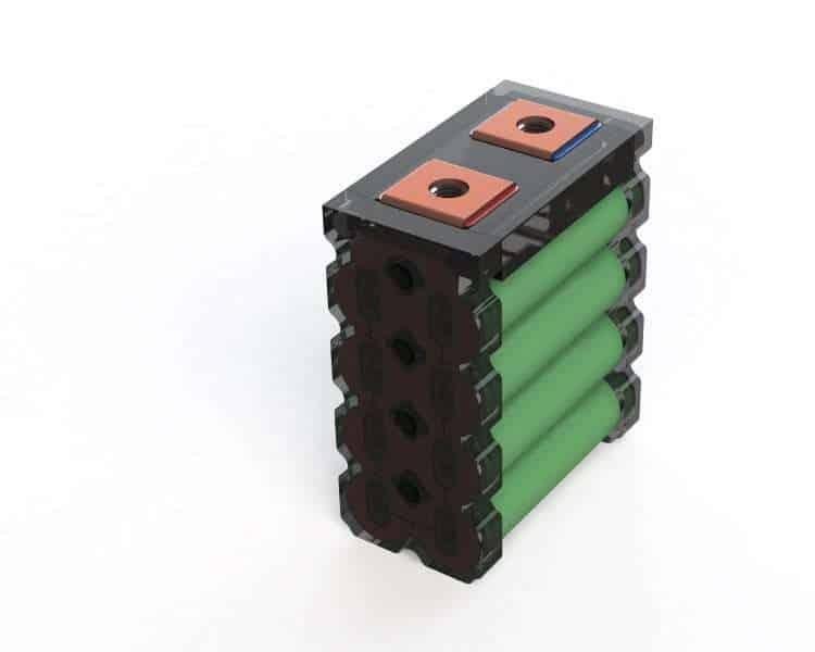 Li Ion 18650 Building Block Li8p25r 20 Ah