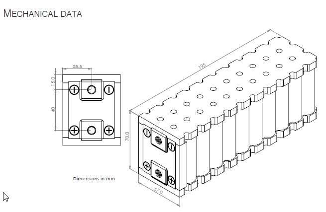 Li Ion Building Block Li30p26f 78